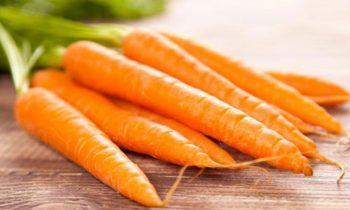 A cenoura protege a visão e tem muitos benefícios para a sua saúde