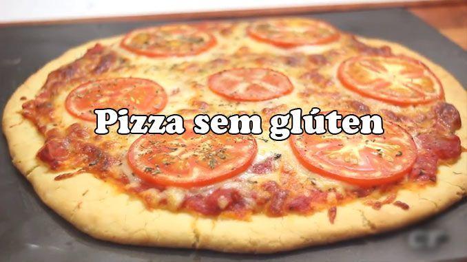 Receita: massa de pizza sem glúten